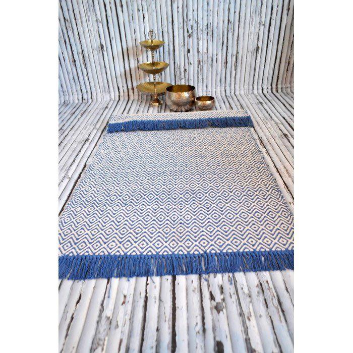 Giz Home Alice Lüks Kilim (Mavi) - 140x200 cm