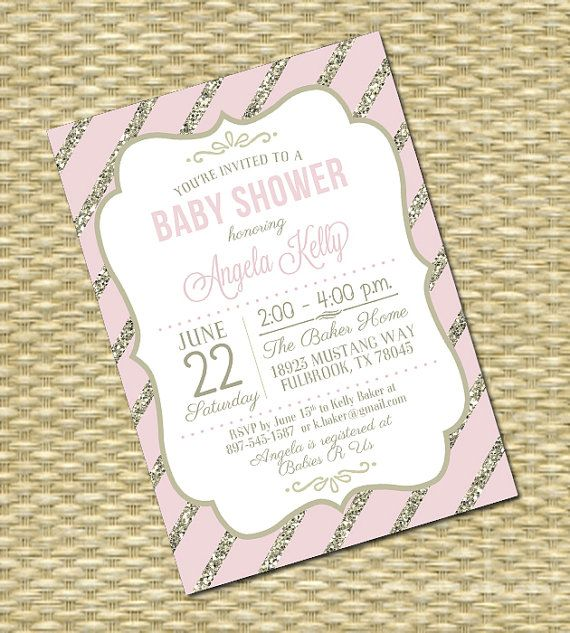 14 best lipa mea printables images on pinterest bachelorette party pink and gold glitter baby shower invitation baby girl sip and see baby sprinkle any colors stopboris Gallery