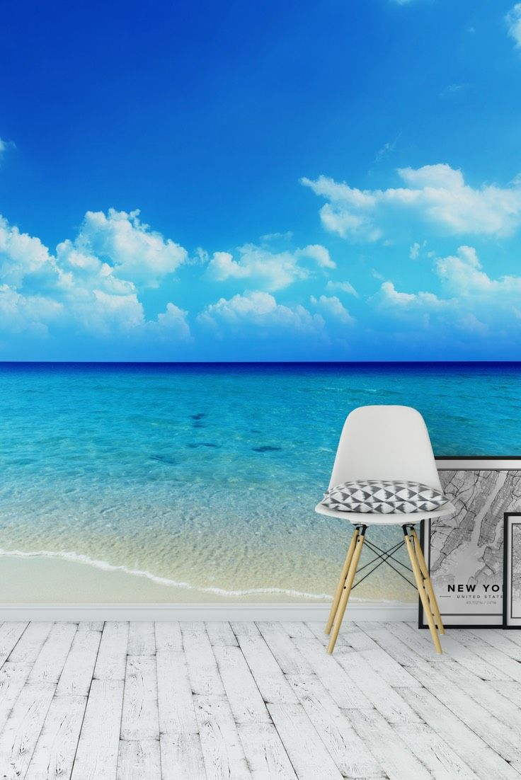best 25 beach wall murals ideas on pinterest beach mural tropical beach wall mural wallpaper