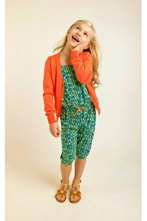 Someone Jumpsuit, vogel. meisjeskleding www.koflo.nl, fashion for girls.