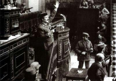 Intento de Golpe de estado, 23 Febrero 1981. Madrid, Spain