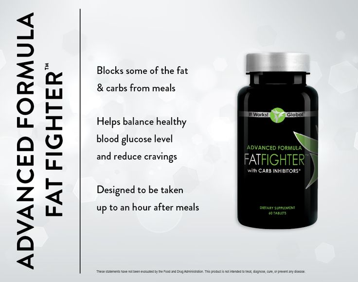 Advanced Formula Fat Fighter: Cut those diet-killing cravings and absorb less fat and carbs even after you've eaten them!