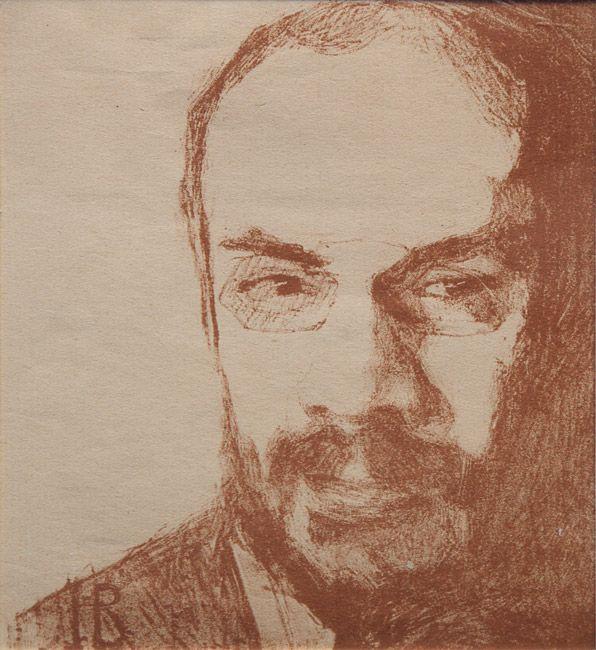 Надежда Войтинская. Портрет Александра Бенуа. 1909