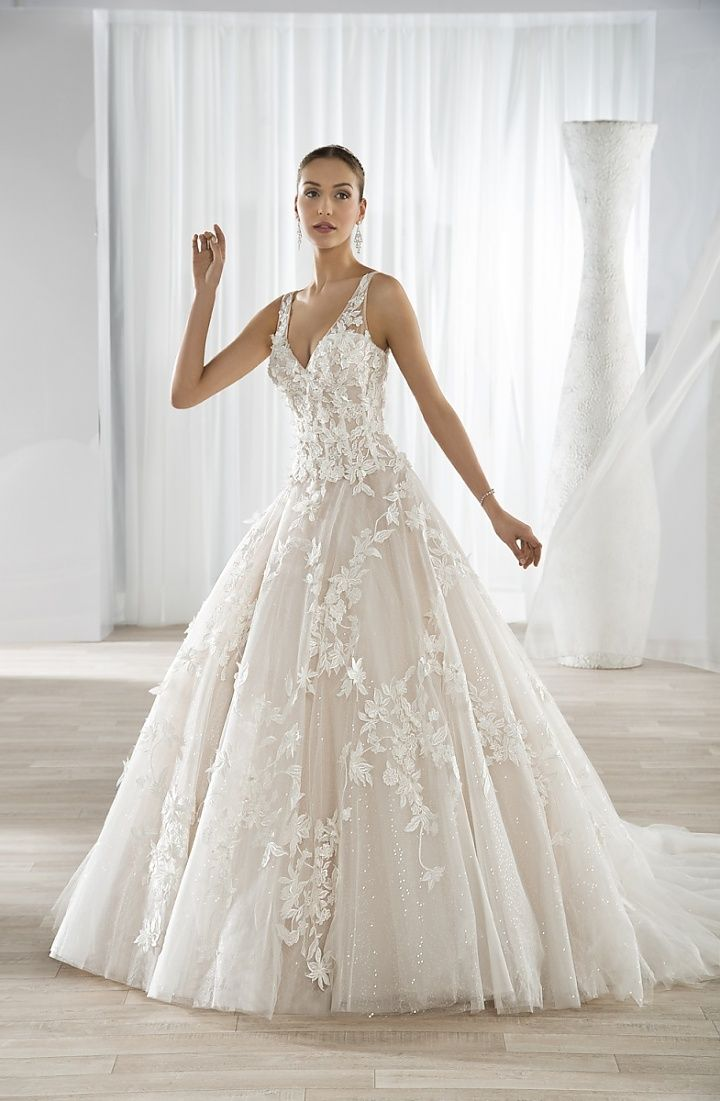 79 best demetrios images on pinterest wedding ideas inspirations tullediaries demetrios wedding dress style 640 this classic ball gown features a v neckline with a shimmering tulle skirt and junglespirit Choice Image