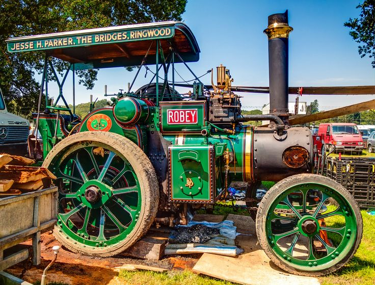 Robey Steam Tractor, 41493 - 'Our Nipper' at the 2012 New Forest Show