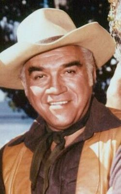 Lorne Greene  Feb 12, 1915 - Sept. 11, 1987 -- Greene died in 1987 of complications from pneumonia in Santa Monica, California