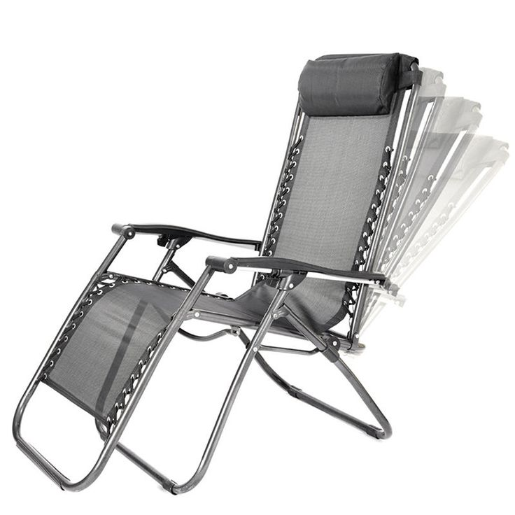 2pcs zero gravity textoline steel frame chairs garden reclining lounger black  sc 1 st  Pinterest & Best 25+ Garden recliners ideas on Pinterest | Garden recliner ... islam-shia.org