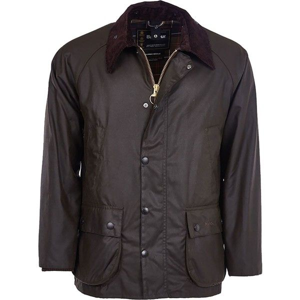 Barbour Classic Bedale Wax Jacket (€335) ❤ liked on Polyvore featuring men's fashion, men's clothing, men's outerwear, men's jackets, barbour mens jackets, mens utility jacket, mens zip jacket, mens hooded jackets and mens waxed cotton jacket