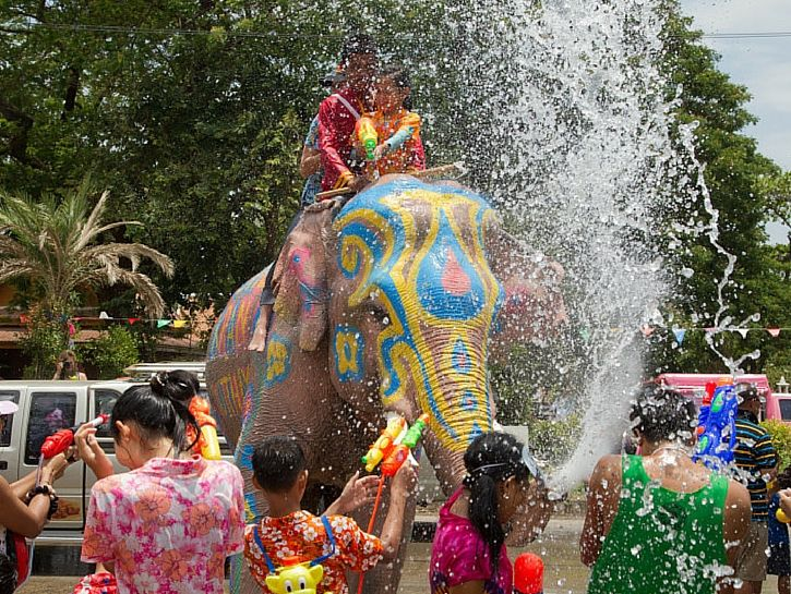Songkran Festival — Thailand. This looks like a blast and a half, it would be so fun to do this 1st hand!