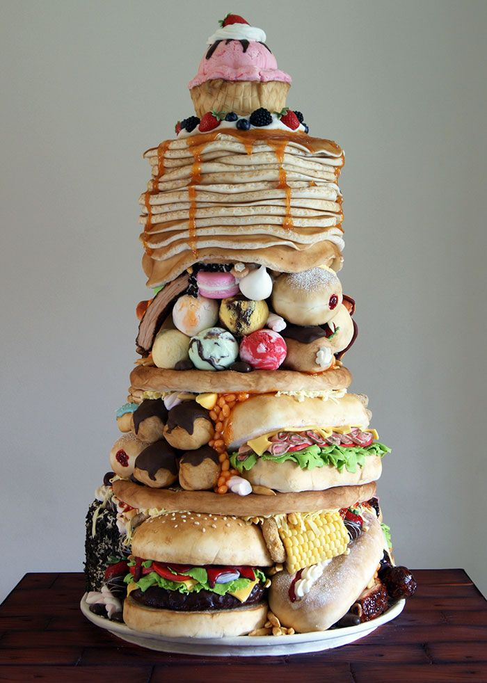 Экстраординарные торты от кондитера-самоучки Лауры Лукайдес