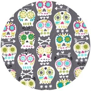 Michael Miller, Bonehead GreyBones, Austin Texas, Baby Carriers, Bonehead Grey, Baby Blankets, Studios Prints, Michael Miller, Fun Fabrics, Lylov Studios