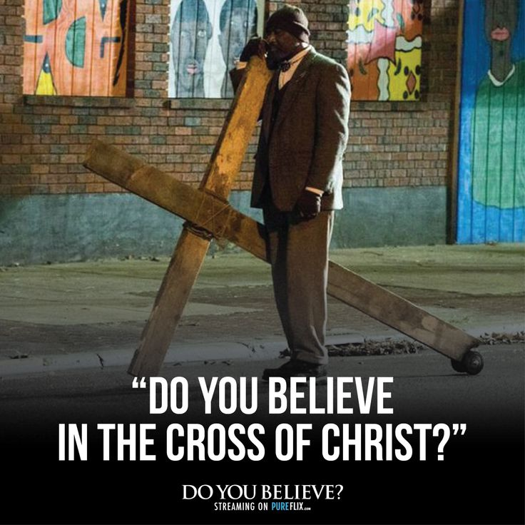 Do you believe in the cross? -- Watch #DoYouBelieve today with a free trial of #PureFlix: https://pureflix.com/subscriptions/new?media_id=578207299874&utm_campaign=Do You Believe&utm_source=DYB Social
