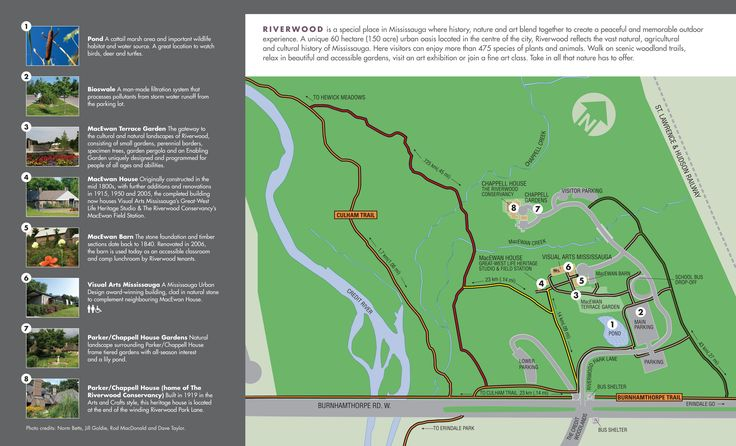 Riverwood Trail Map