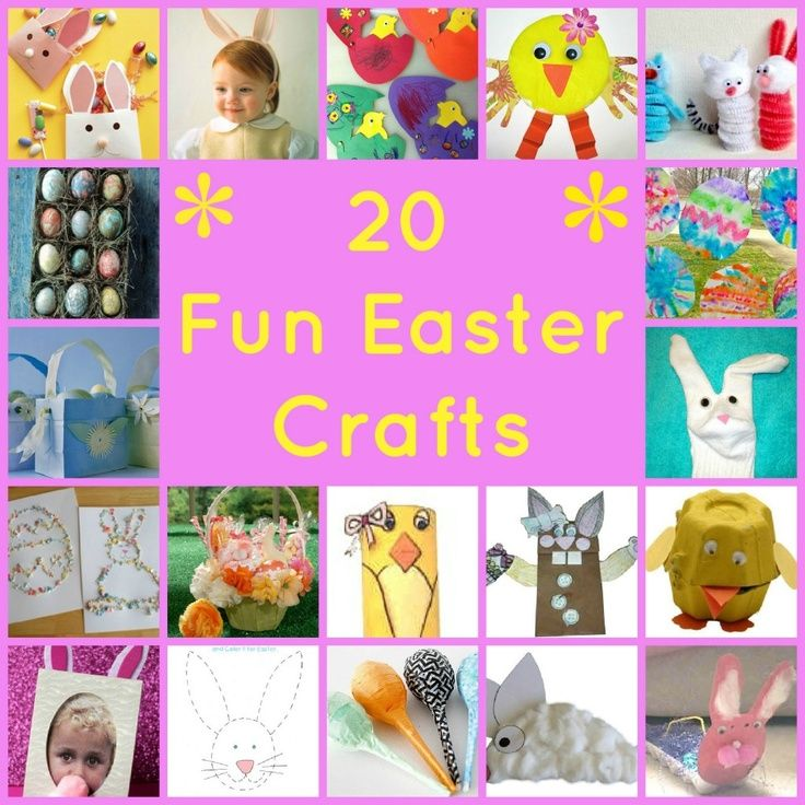 20 Fun Easter Crafts To Do With Kids