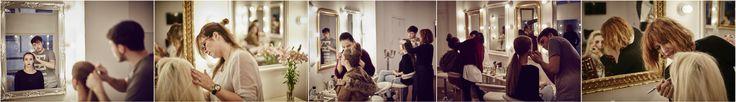 Algunas fotos making of de nuestro curso Intensivo de #maquillaje y #peluqueria de #moda y #publicidad