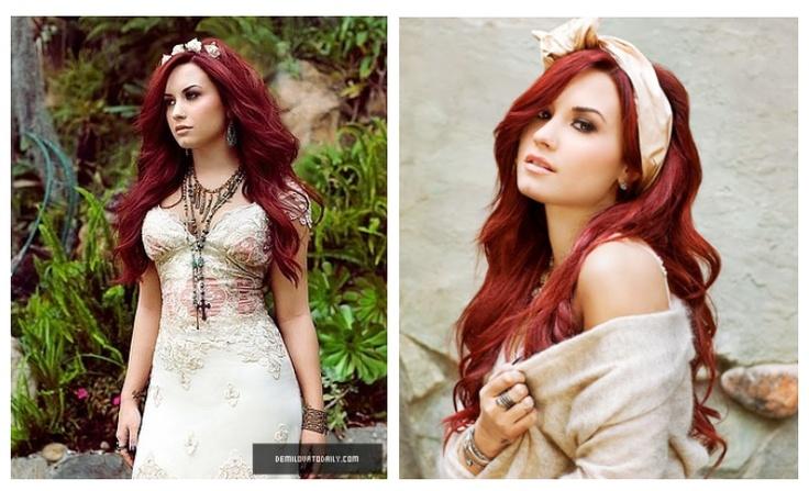 Color Hair Style: Love Demi Lovato's Hair Color & Style!