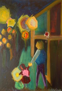 #Transistor , oil on canvas #sofia #tsimini #forgotten