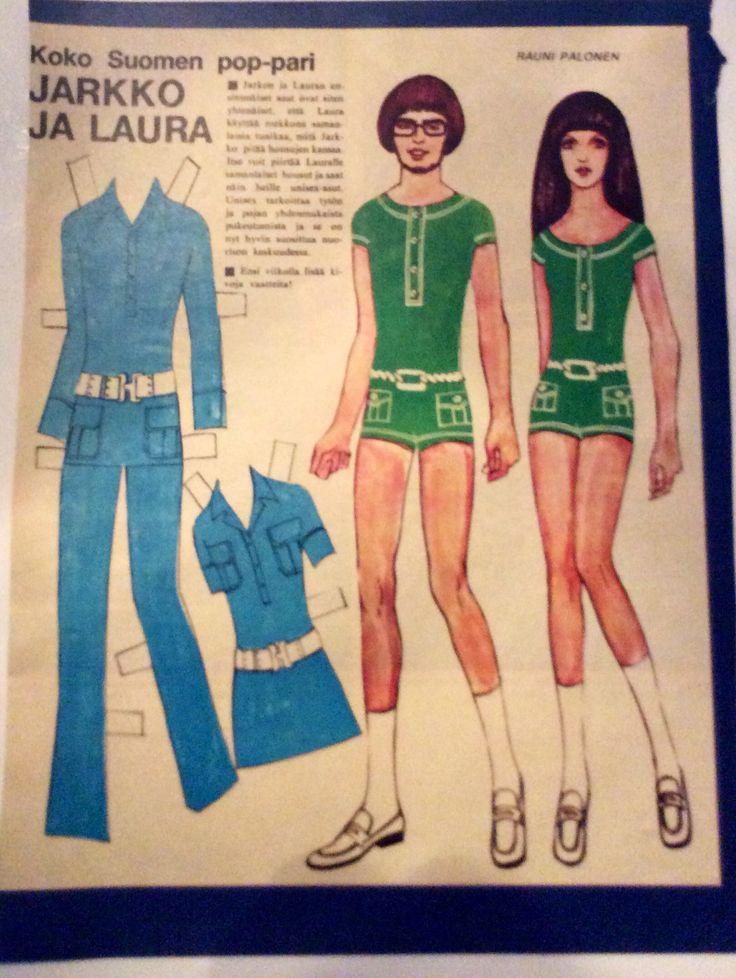 Paper Dolls Jarkko&Laura 1969