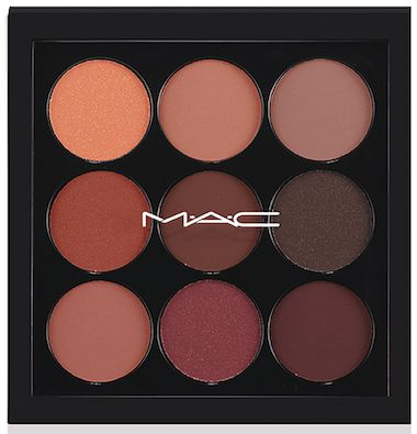 Eyes on MAC Eyeshadow X9 Palette in Burgundy
