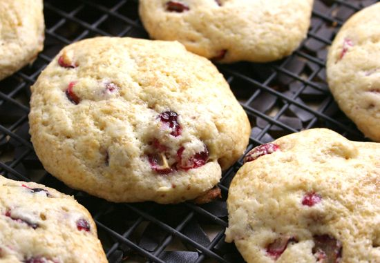 Meyer Lemon Cranberry Scones | Breakfast/brunch munchies! | Pinterest