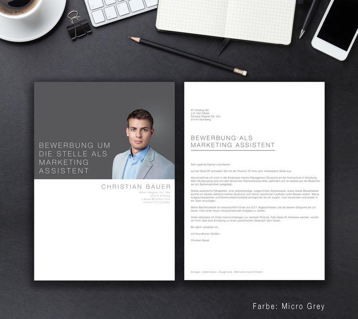 """Unsere Bewerbungsvorlage """"Business Classic"""" in der Farbe Micro Grey. Mit der Vorlage """"Business Classic"""", trifft Stil auf Klassik. Geben Sie im Orchester um eine neue Arbeitstelle den Ton an. Sie erhalten von uns ein Deckblatt, Anschreiben, Lebenslauf, Motivationsschreiben und eine Abschlussseite. Die Datei bekommen Sie als fertige Pages- oder Word-Datei inklusive Platzhaltertext mit Hinweisen."""