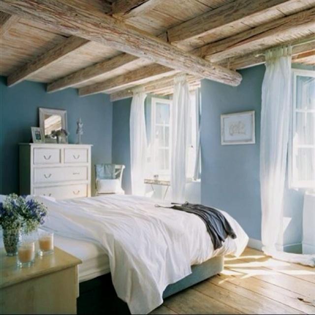 Breezy country bedroom