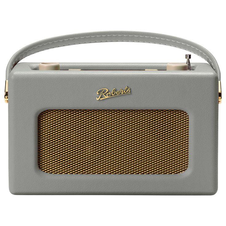 BuyROBERTS Revival RD70 DAB/DAB+/FM Bluetooth Digital Radio with Alarm, Dove Grey Online at johnlewis.com