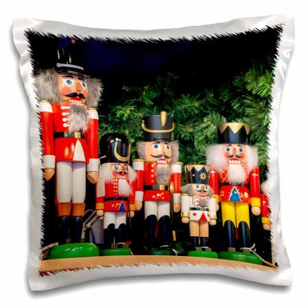3dRose Nutcrackers for sale, Rothenburg, Germany, Pillow Case, 16 by 16-inch