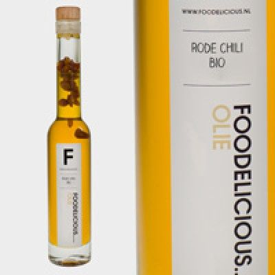 Rode Chili Olie  | Foodelicious