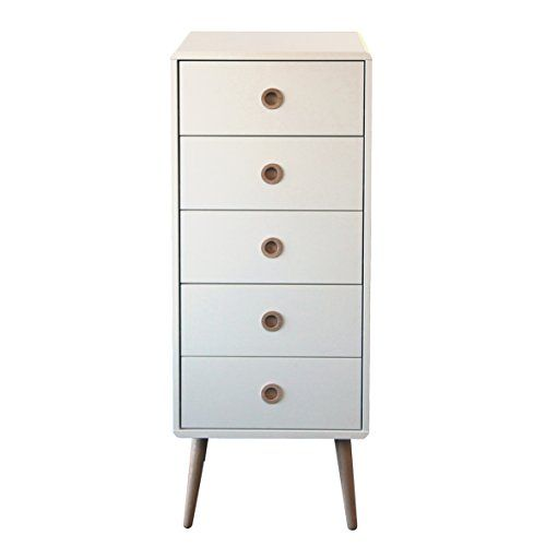 Steens Group 3600050050000F Commode à 5 Tiroirs MDF Verni Blanc 41 x 40 x 105 cm Steens Group http://www.amazon.fr/dp/B00UFREYA0/ref=cm_sw_r_pi_dp_5Szuwb022A59Y
