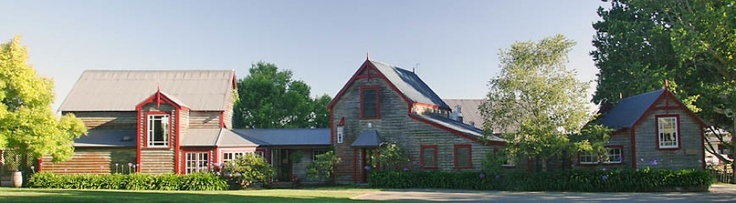 The rustic Neudorf winery buildings are a gorgeous facade for the elegant wines produced there.