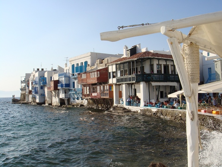 Morning bliss... We love you Mykonos!