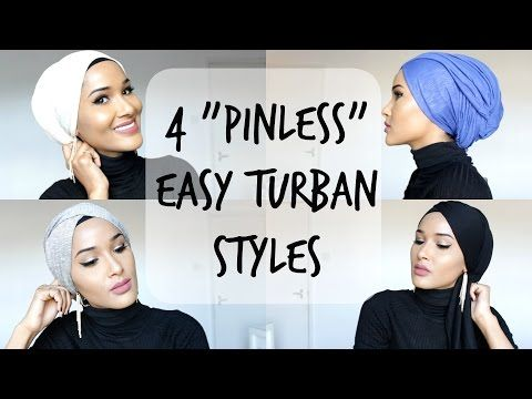 how to wear hijab turban style