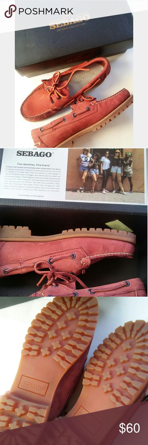New! Sebago B50122 Women 7.5 Leather Boat Shoes Brand New! Never been used! With box! Sebago B50122 Women Size 7.5 Leather Boat Shoes Sebago Shoes