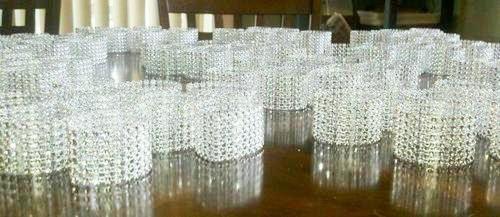 75 classy napkin or sash rings / holders for weddings, anniversaries, or elegant gatherings! Only $33.00!!