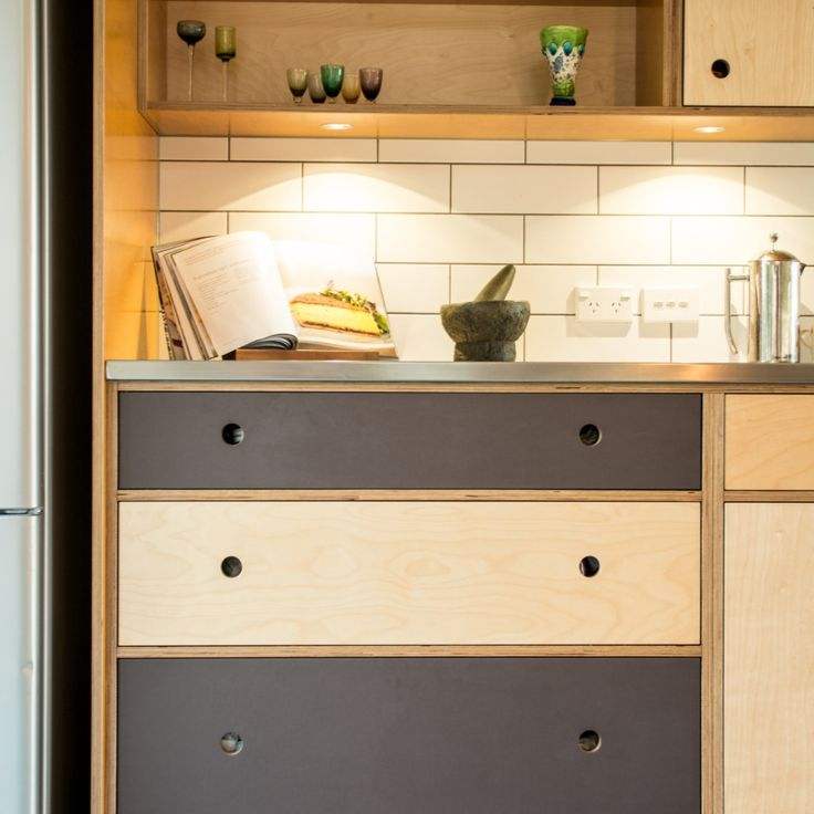 Diy Plywood Cabinets: 40 Best Images About Plywood Kitchens On Pinterest