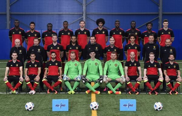 Voici la photo officielle des Diables rouges pour l'Euro 2016 | Football belge - lesoir.be