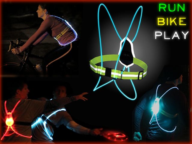 Fiber Optic Athletic Gear: Revolutionizing Sports and Safety by noxgear — Kickstarter.  Stay visible running or cycling at night; athletes experience the excitement of night sports with our high-tech illuminated vests