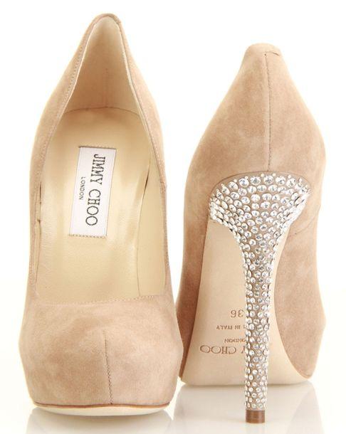 Love these!!Nude Shoes, Fashion, Wedding Shoes, Diamonds, Jimmy Choo, Wedding Heels, Nude Heels, Jimmychoo, Dreams Closets