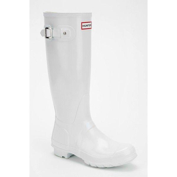 Hunter Original Gloss Rain Boot ($148) ❤ liked on Polyvore ...