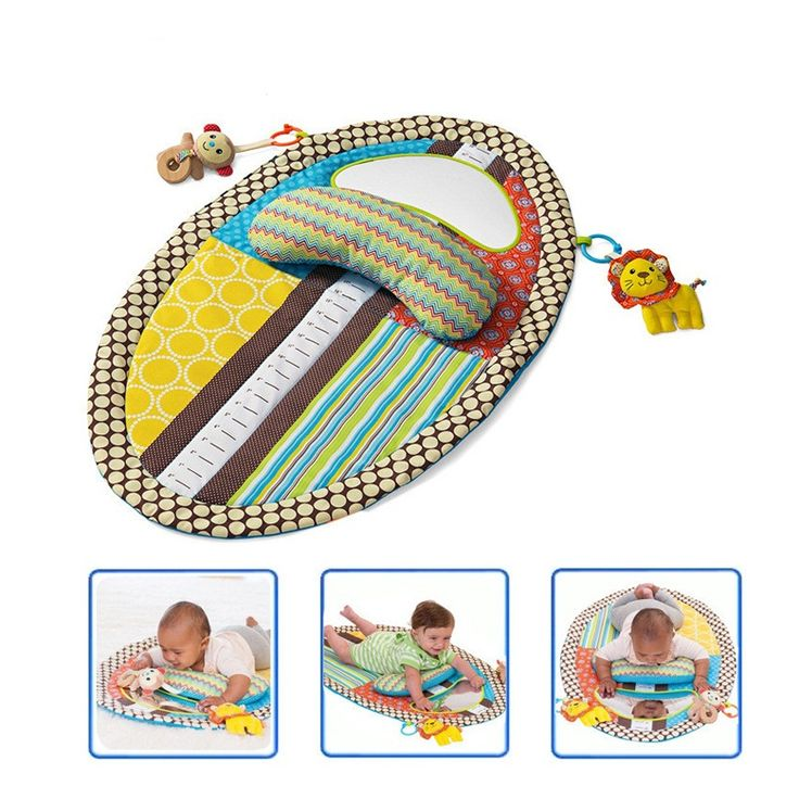 2016 New Baby Play Mat Detachable Changing Mat Infant Toddlers Height Measuring Early Education Toys With Pillow Safety Mirror