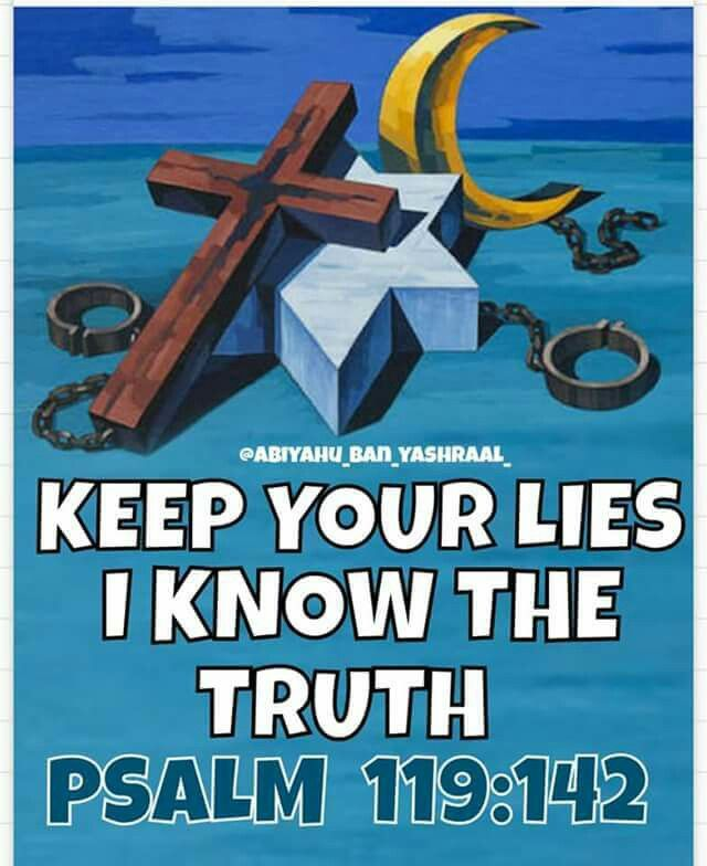 The Law of Yashua is the Truth....simple negroes hate these Laws.