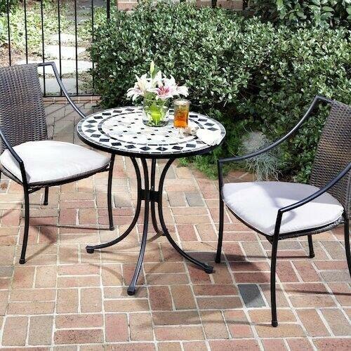 Outdoor Furniture Set Balcony Patio Deck Garden Indoor Metal