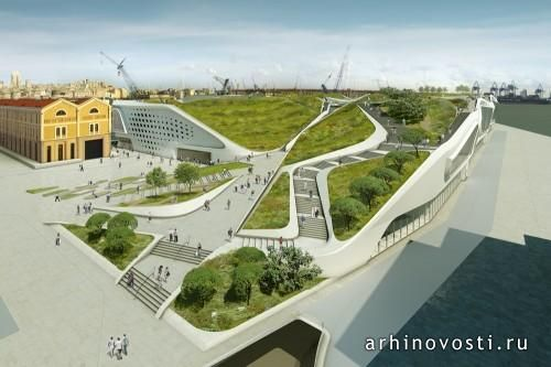 Архитектурная компания UNStudio поделилась проектом многофункционального комплекса Ponte Parodi для итальянского города Генуя. Здание будет привлекать множество людей не только интересной архитектурой, но и обилием зелени, которая сделает времяпрепровождении возле воды ещё более приятным. Данный проект является частью более...