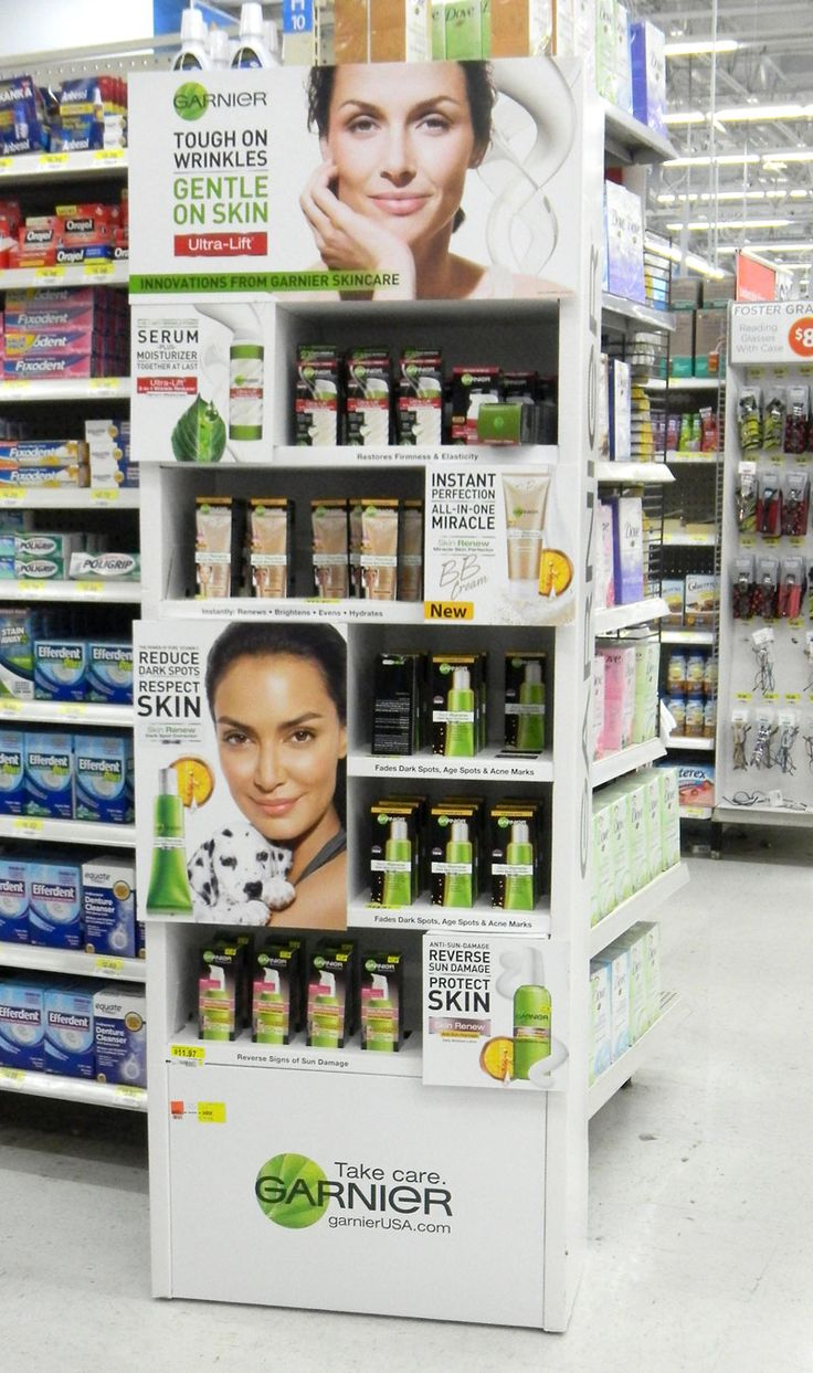 Garnier scale beauty floor stand