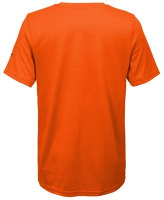 Nike Nfl Legend Denver Broncos T-Shirt, Little Boys(4-7) - Orange 5/6