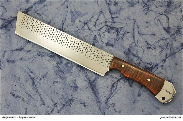 Rasp Cleaver. Pearce Knives. Lots of other cool knives from otherwise non cutting sorts of tools and objects.