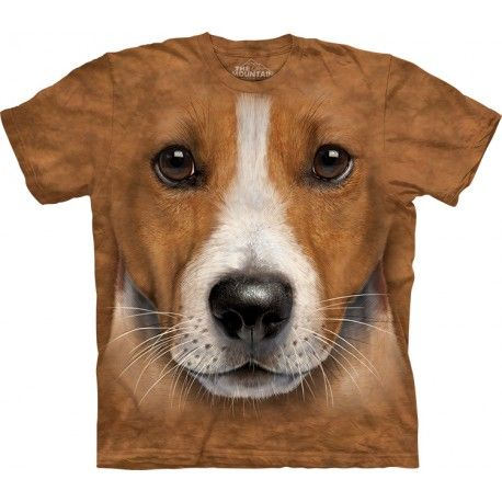 This dog shirt is amazingly realistic! The cool 'Big Face