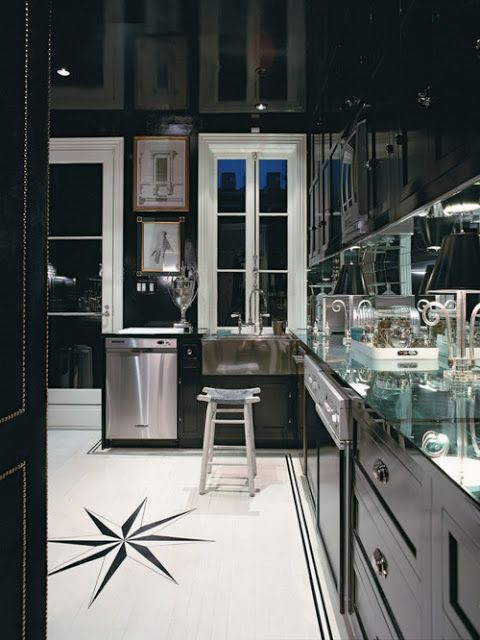 once.daily.chic: Black in the Kitchen