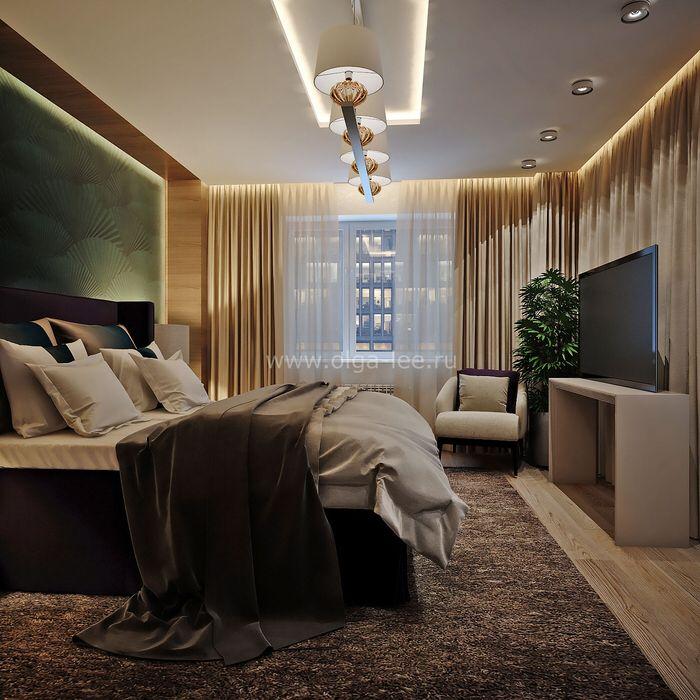 Дизайн интерьера спальни#спелый дом